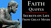 Faith Quotes By Philosophers, Poets and Authors