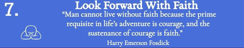 Look Forward With Faith