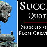 Success Quotes By Philosophers, Poets and Authors