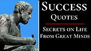 Success Quotes - By Philosophers, Poets and Authors