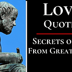 Love Quotes By Philosophers, Poets and Authors